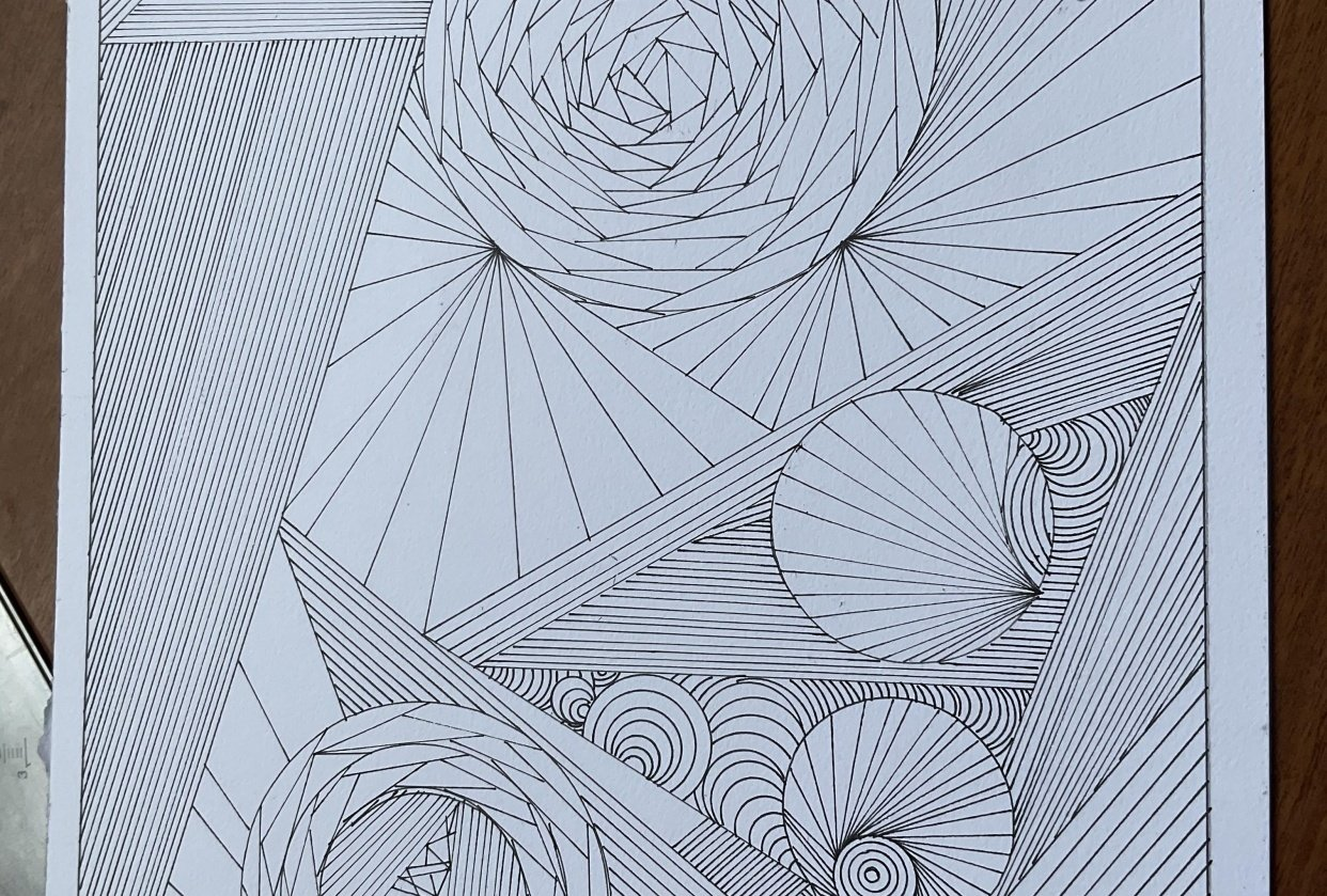 Line art - student project