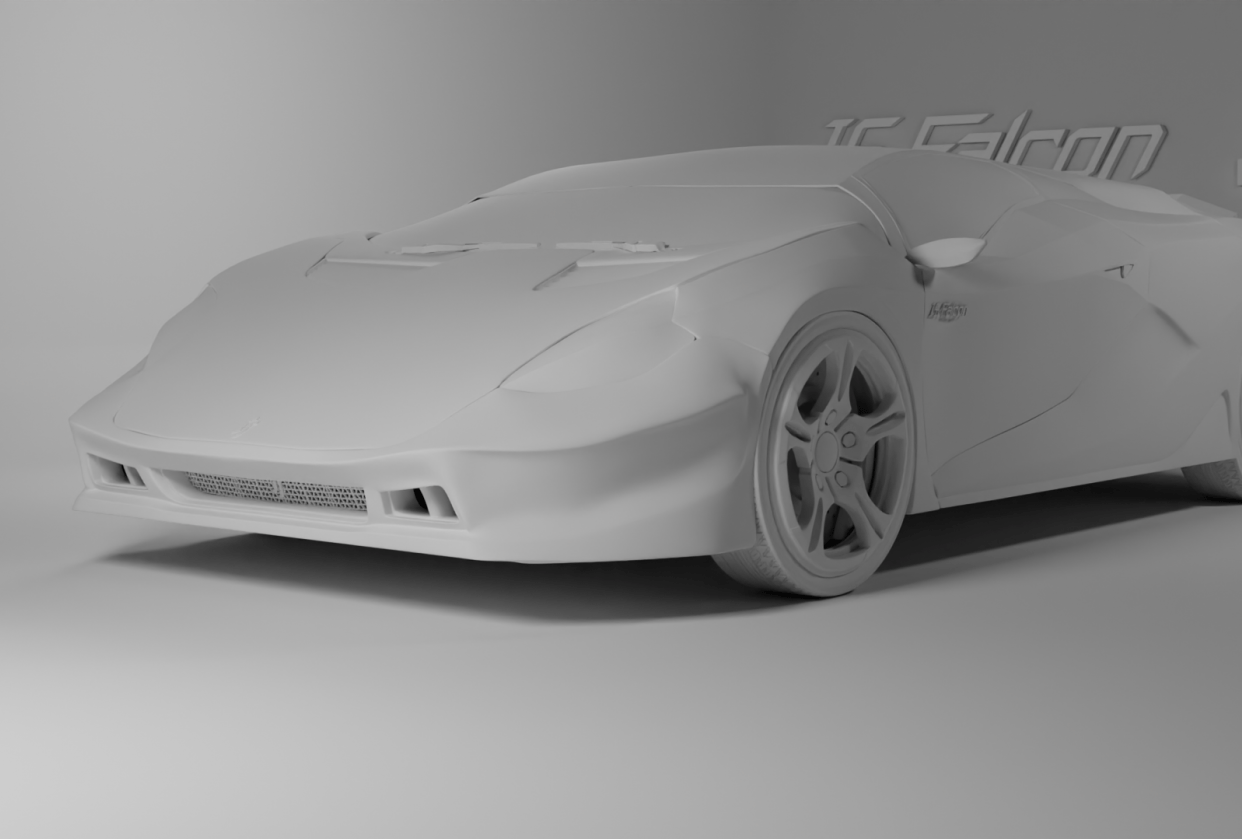 Basic Render - student project