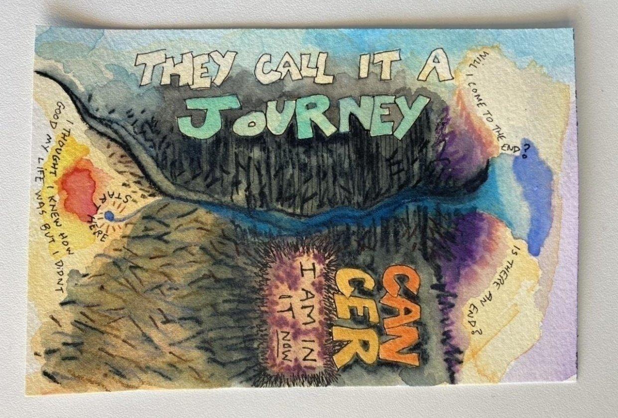 My Fearless Art Jumpstart - student project