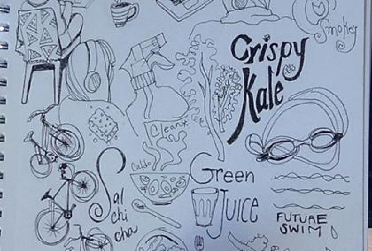 crispy kale - student project