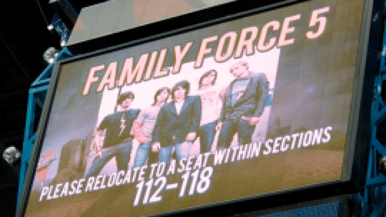 Family Force 5 - student project