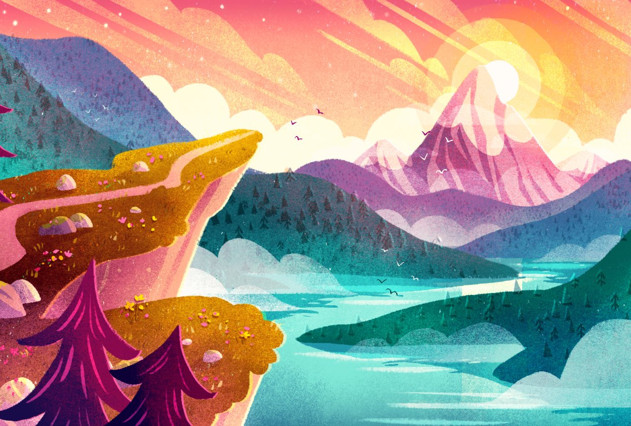 Mountain Adventure - student project