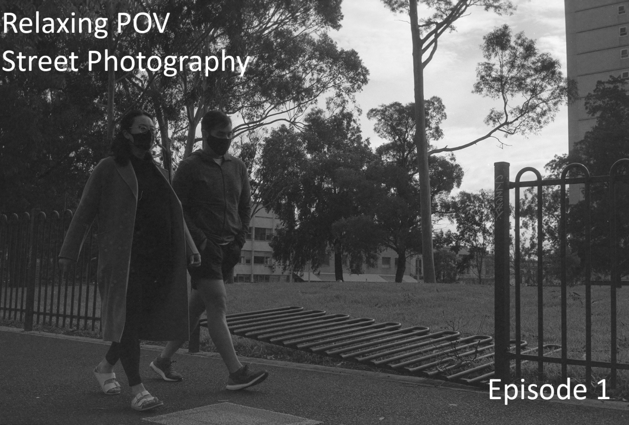 my relaxing street photography series - student project