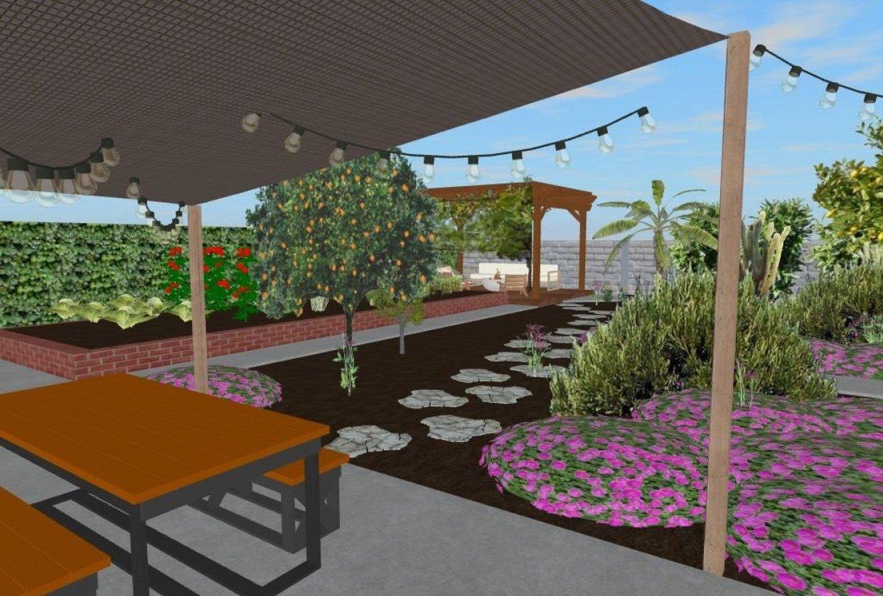 My Backyard - student project