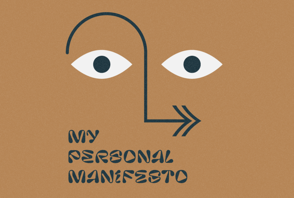 My Personal Manifesto - student project