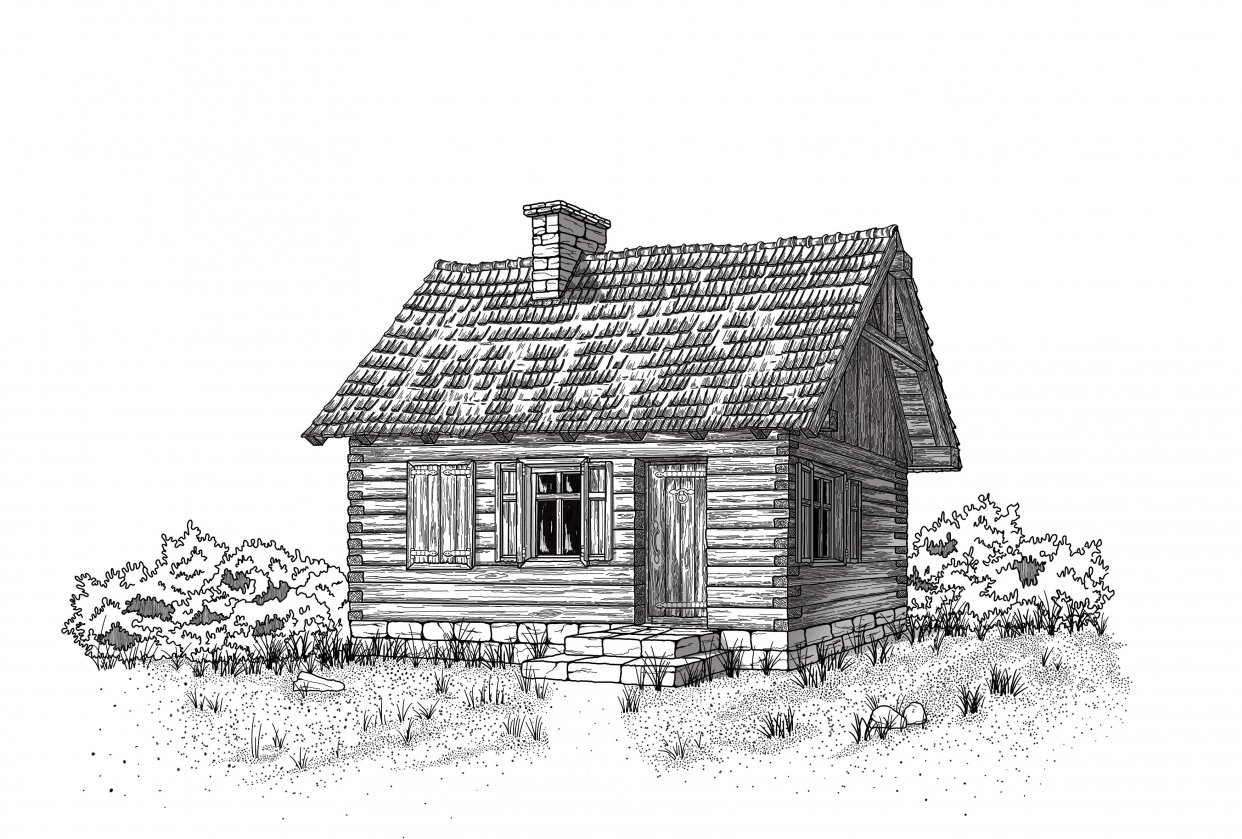 Little log cabin - student project