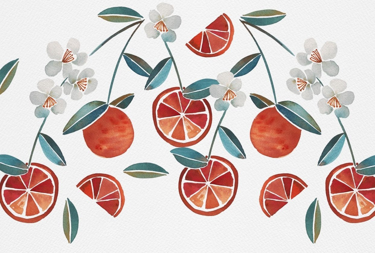 Summer fruits - student project