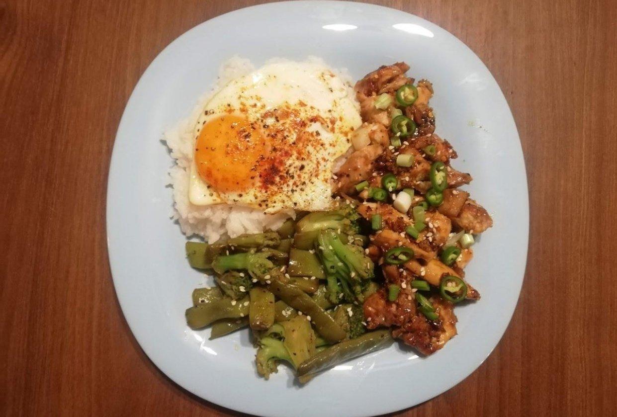 Chicken Teriyaki - student project