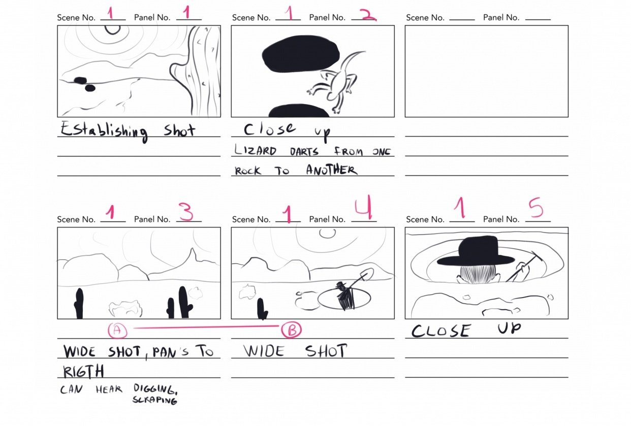 Storyboard class - student project