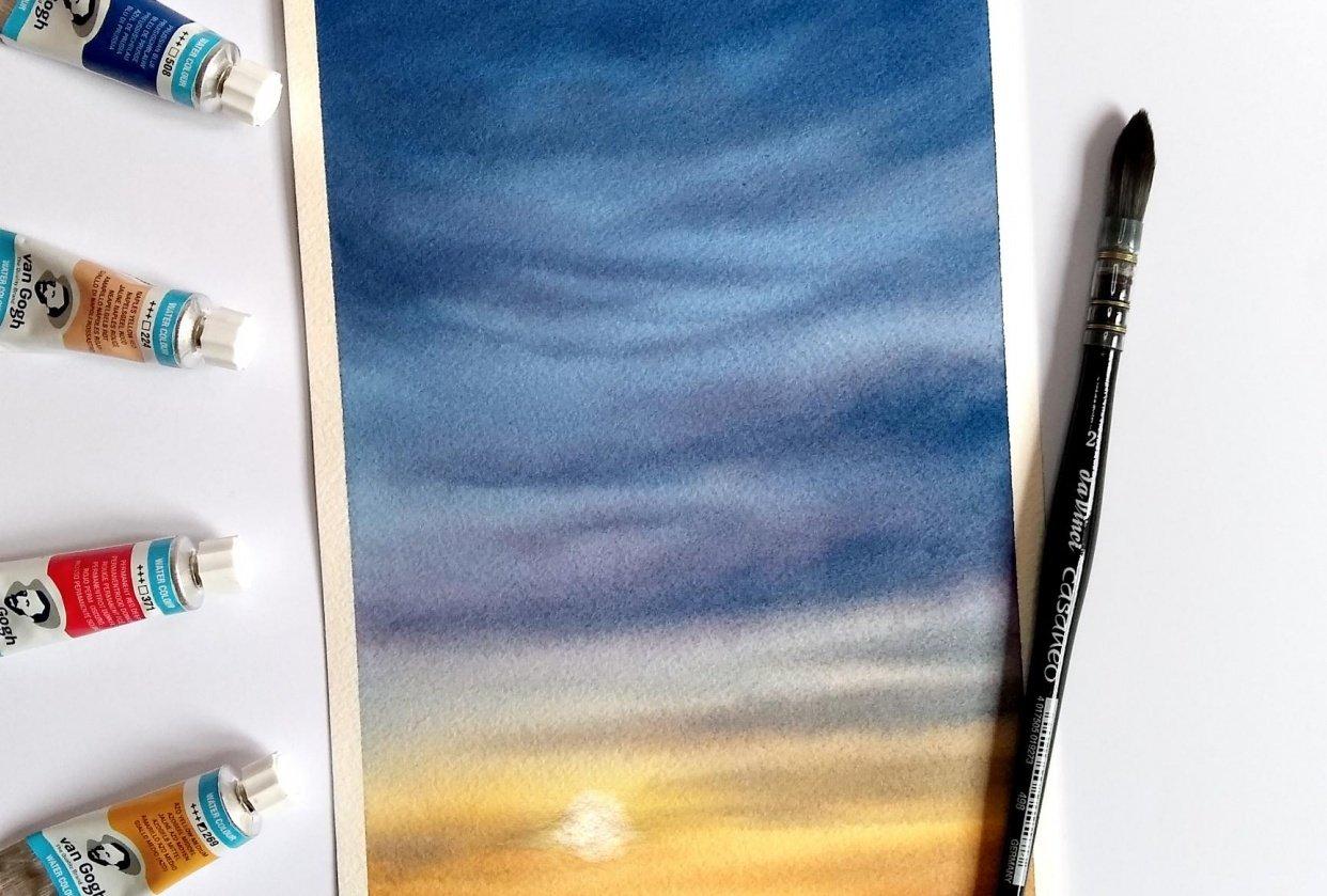 Sunset Sky - student project