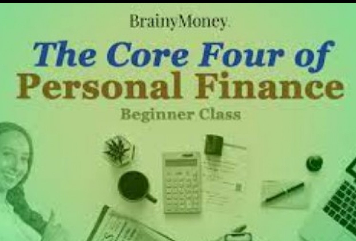 Core Four of Personal Finance - student project