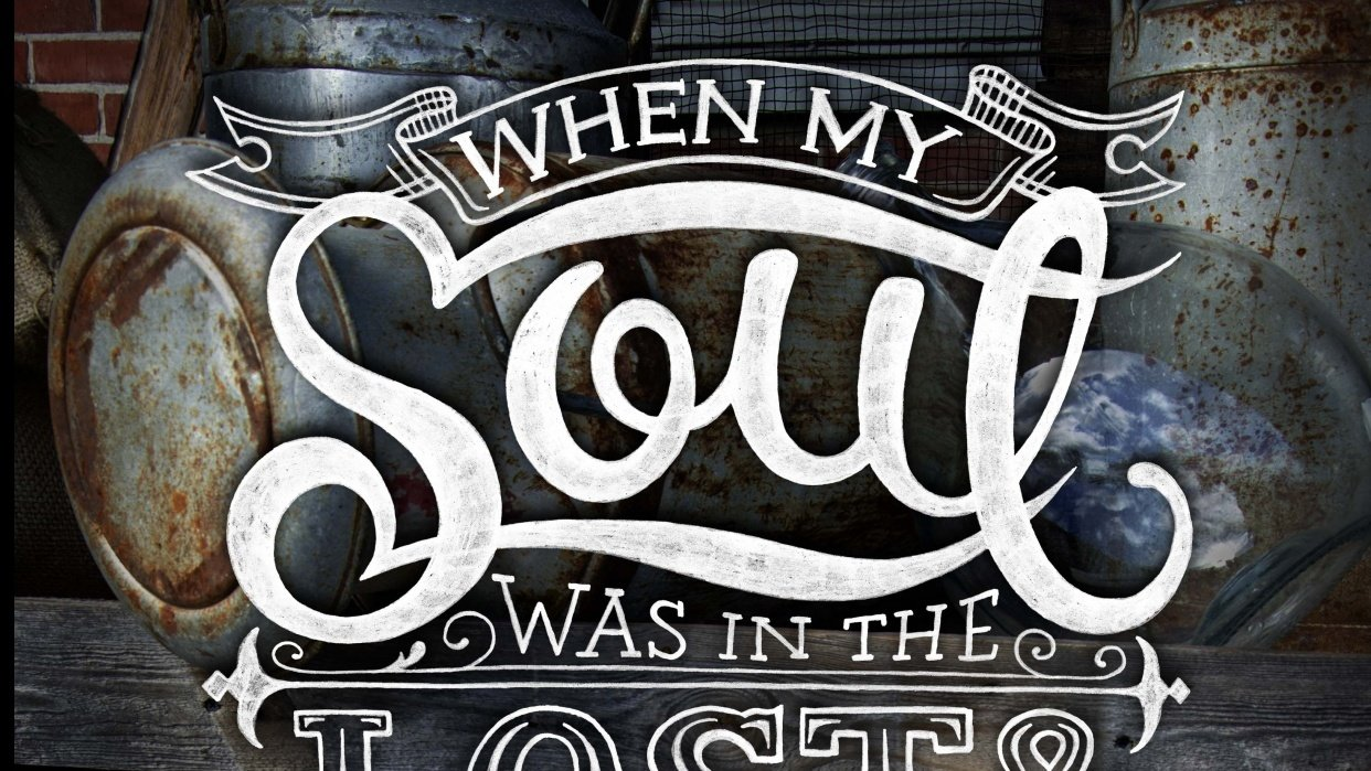 When my soul was in the lost and found... - student project
