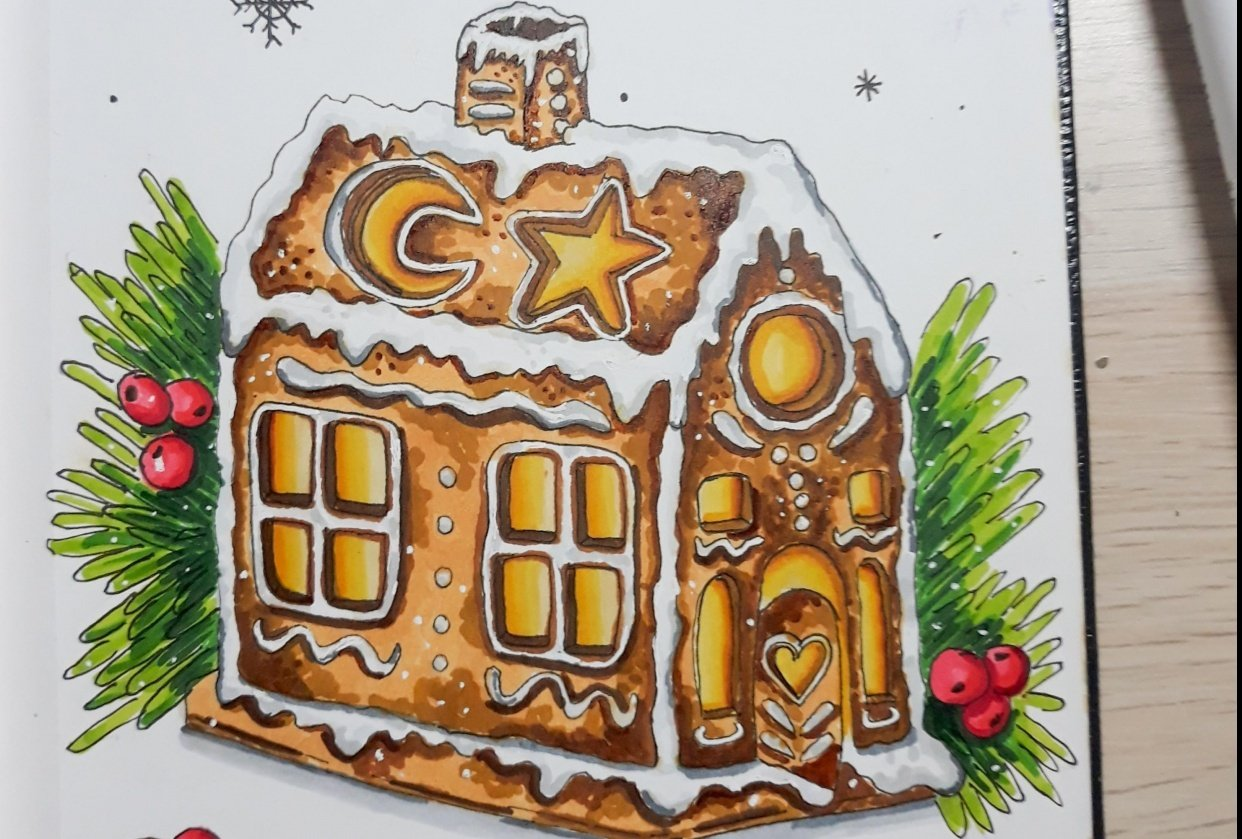 Ginger Bread House - student project