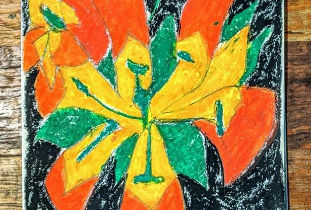 fiery flowers - student project