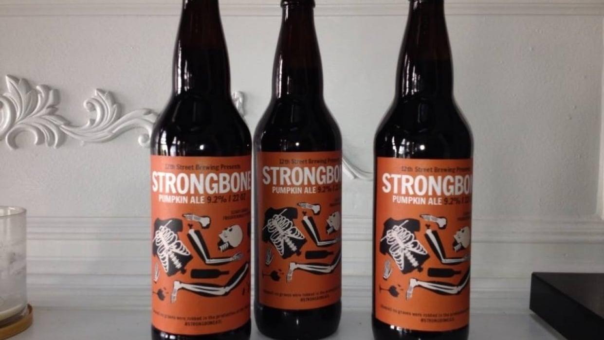 Strongbone Pumpkin Ale - student project