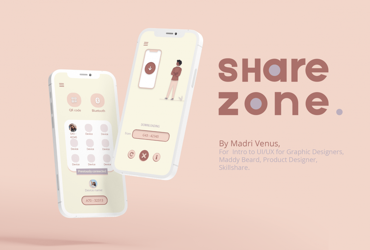 Share Zone - student project