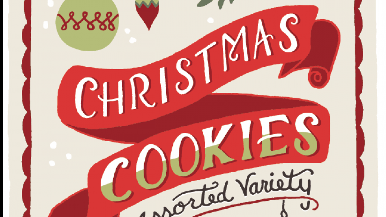 Holiday Cookies Packaging - student project