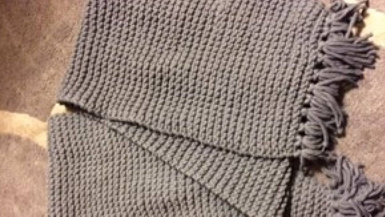Gray Scarf - student project