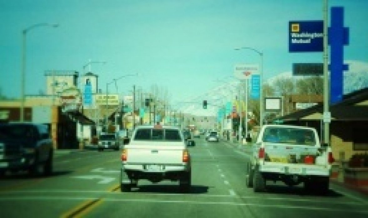 Main St., Bishop, California - student project