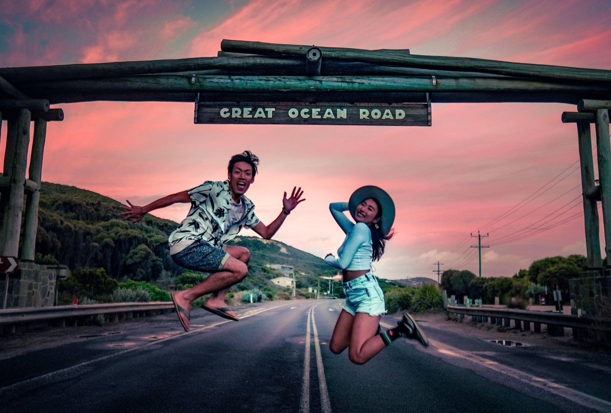 Great Ocean Roadtrip of a Lifetime - student project