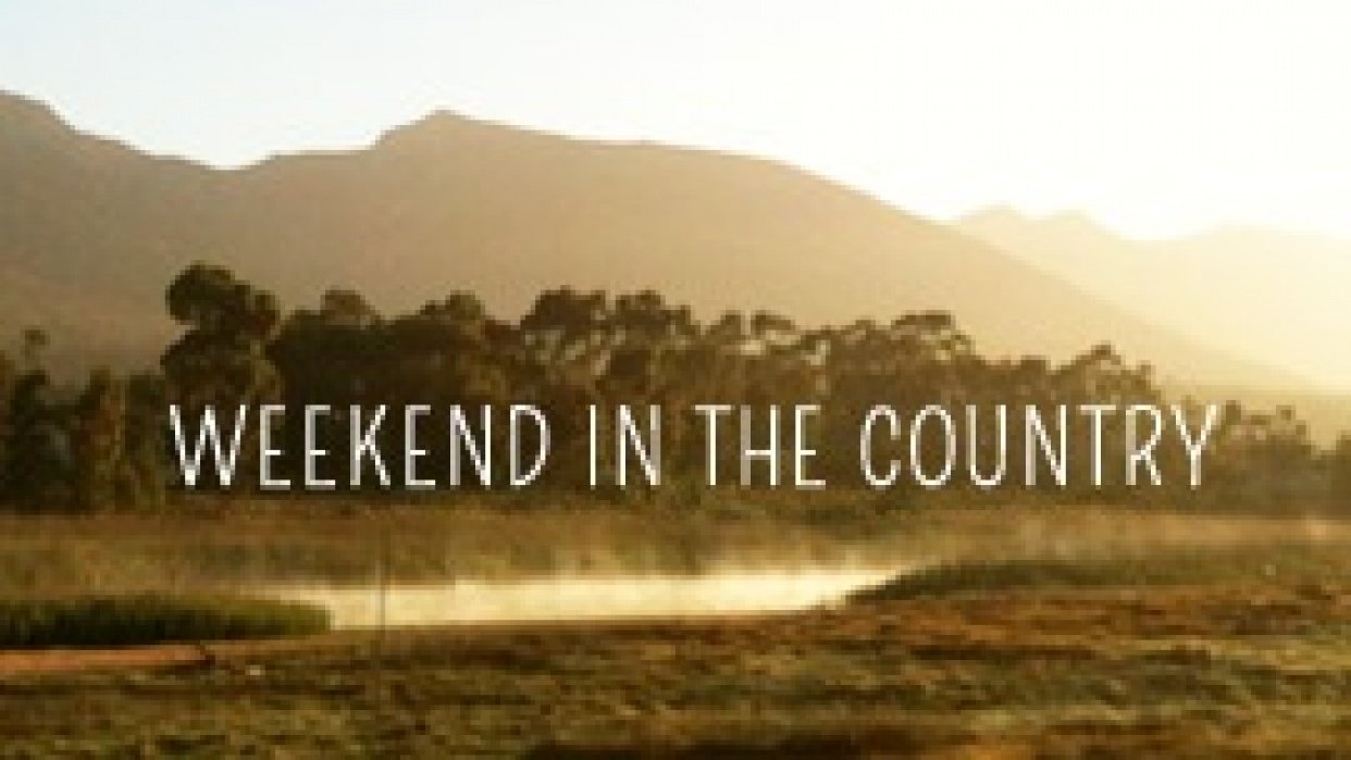 Weekend in the country - student project