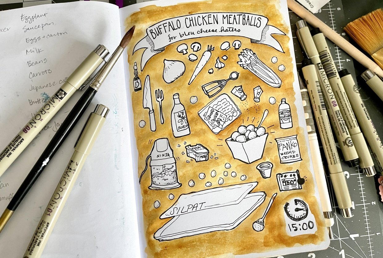 Always Drawing: 7 Creative Exercises - student project
