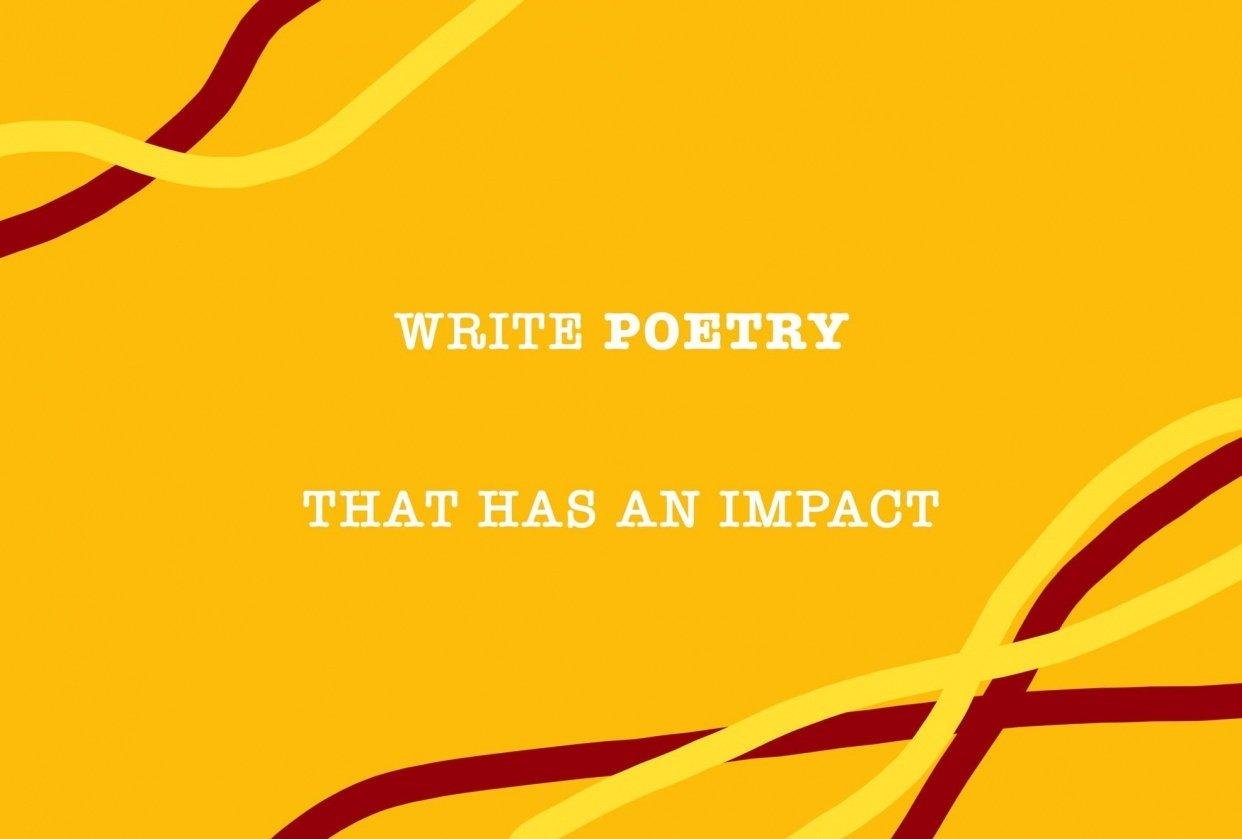 Splinter - a poem - student project