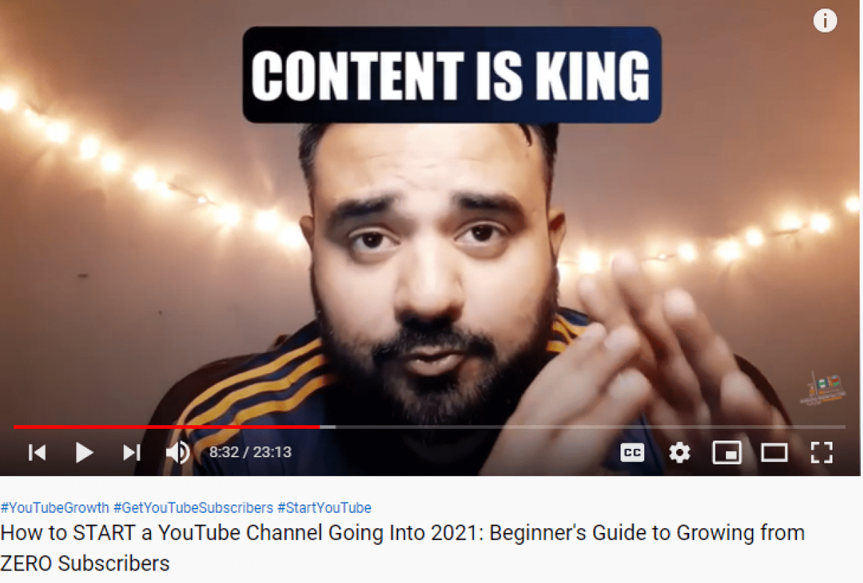 How to START a YouTube Channel Going Into 2021: Beginner's Guide to Growing from - student project