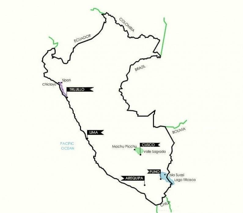 Perú, beyond Machu Picchu - student project