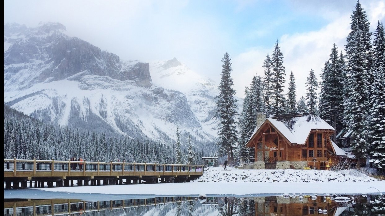 Emerald Lake Perspectives - student project