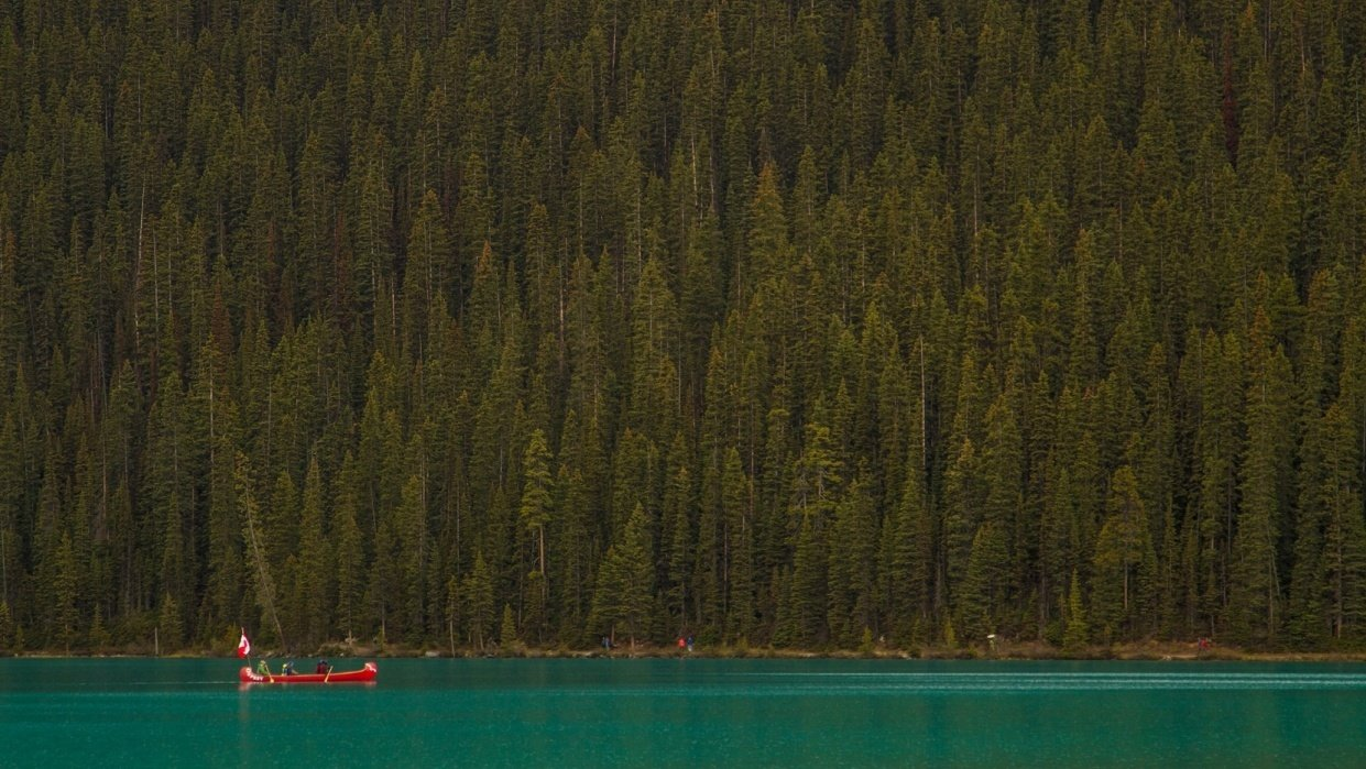 A hour in the Canadian Rockies - student project