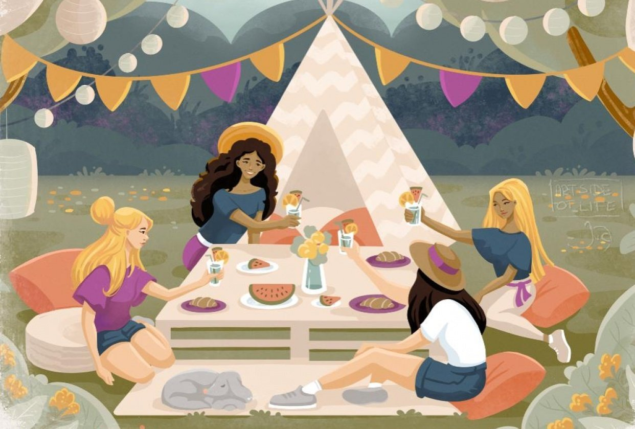 Picnic in the Park - student project