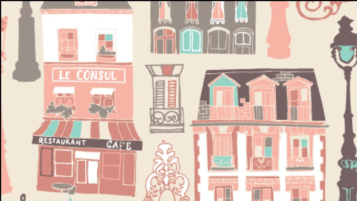 Parisian Houses - student project