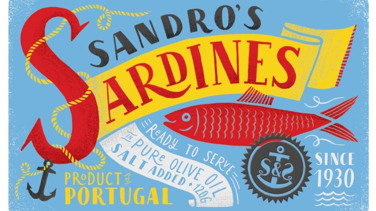 Sardines packaging - student project