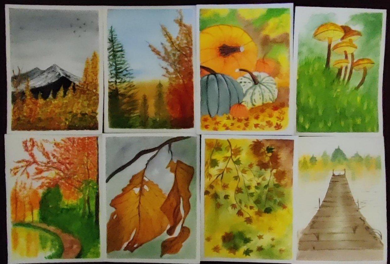 Gorgeous Autumn Landscapes - student project