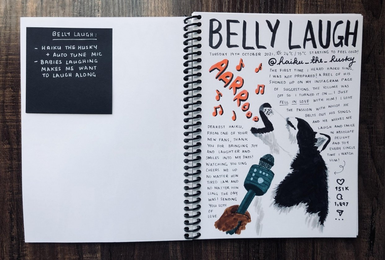 Harini's Illustrated Journal 2.0! - student project
