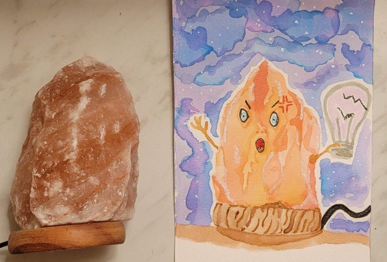Beginner Watercolor Workshop - student project