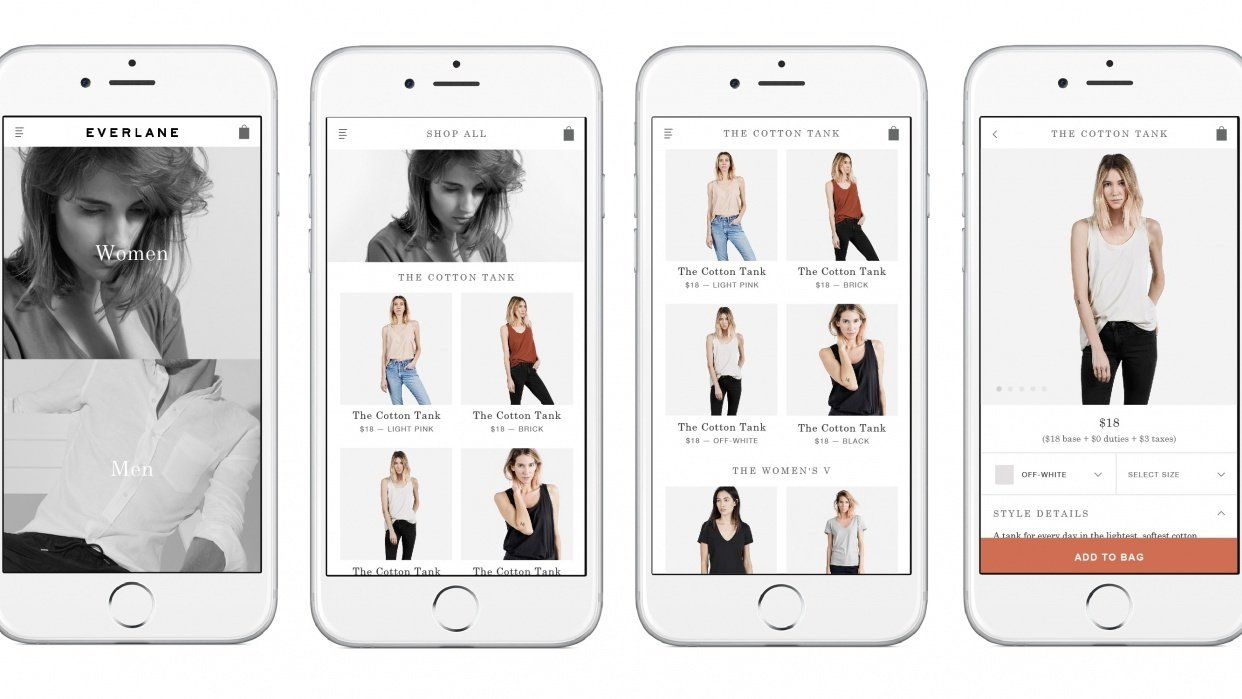 My Everlane Project - student project
