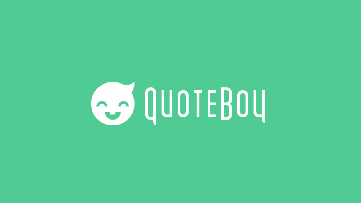 QuoteBoy Web Design Style Guide - student project