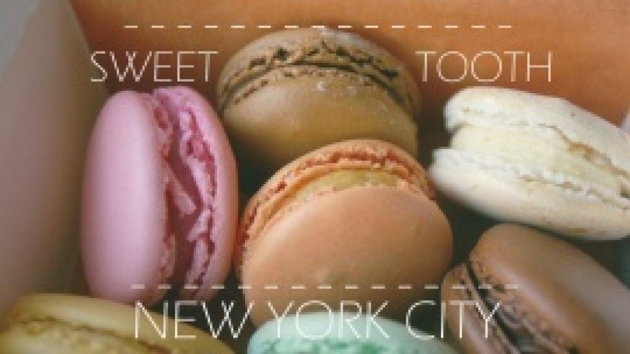 Sweet Tooth City : My Snack Guide to Downtown New York City - student project