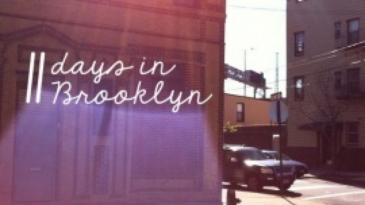 11 days in Brooklyn - student project