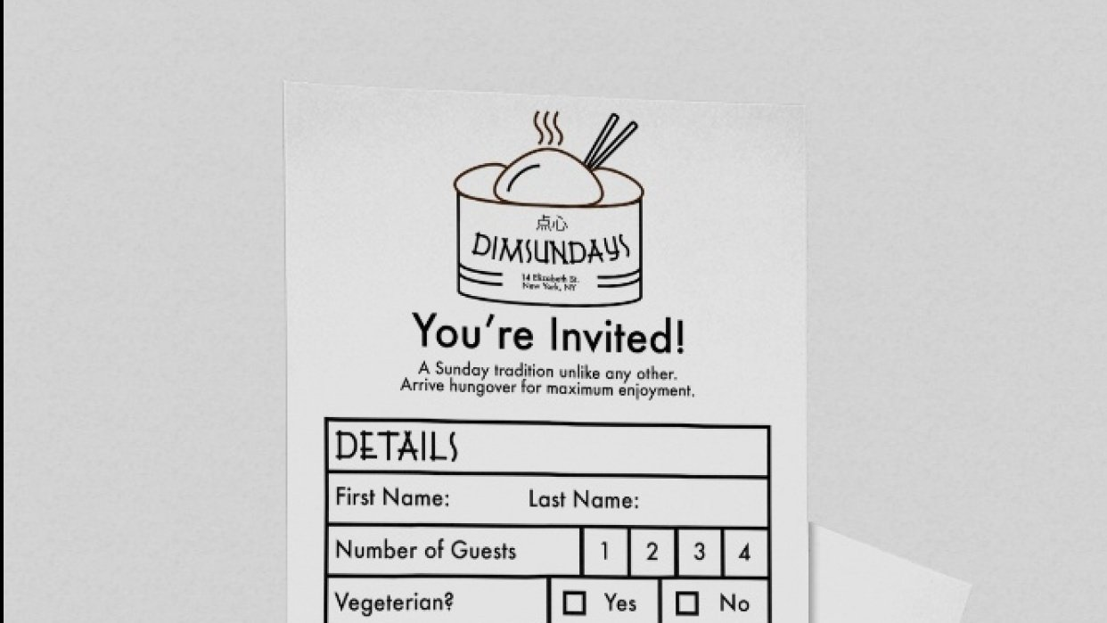 Dimsundays - student project