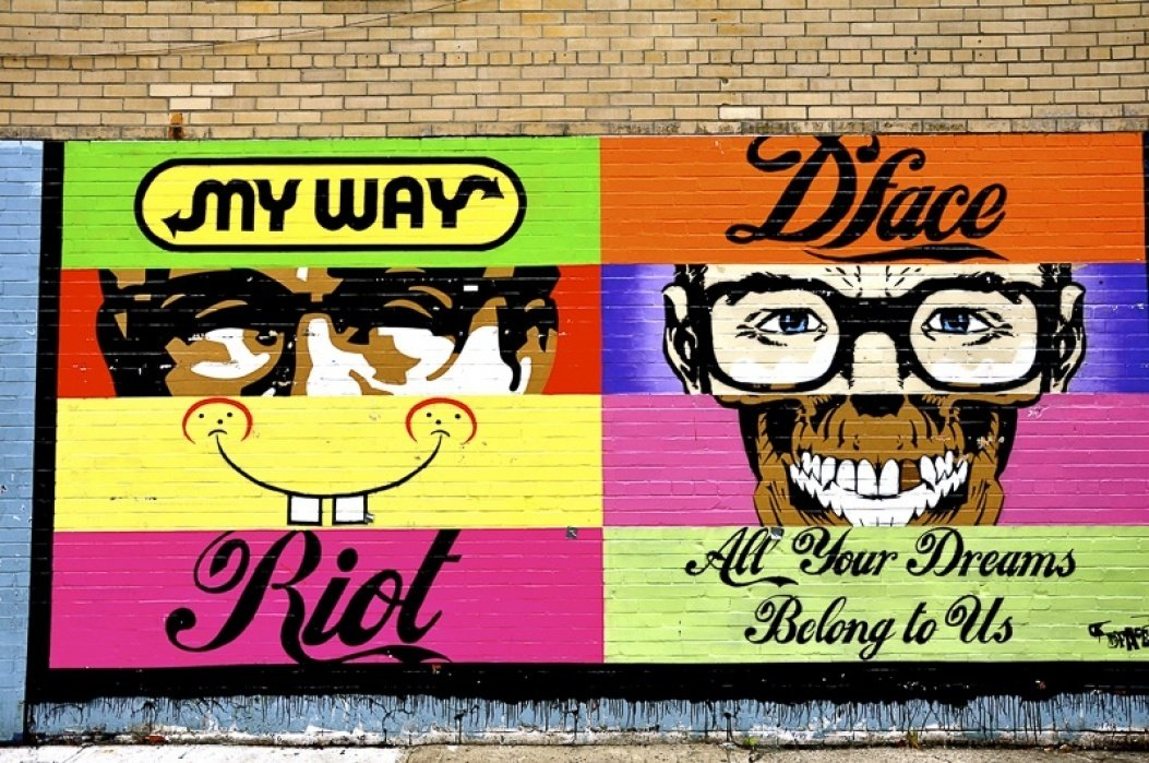 The Street Art of New York City  - student project