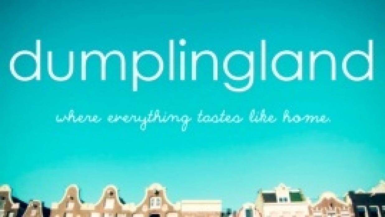 dumplingland {where everything tastes like home.} - student project