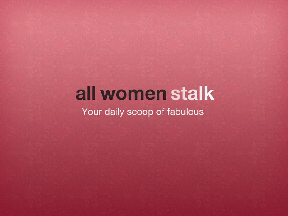 all women stalk - student project