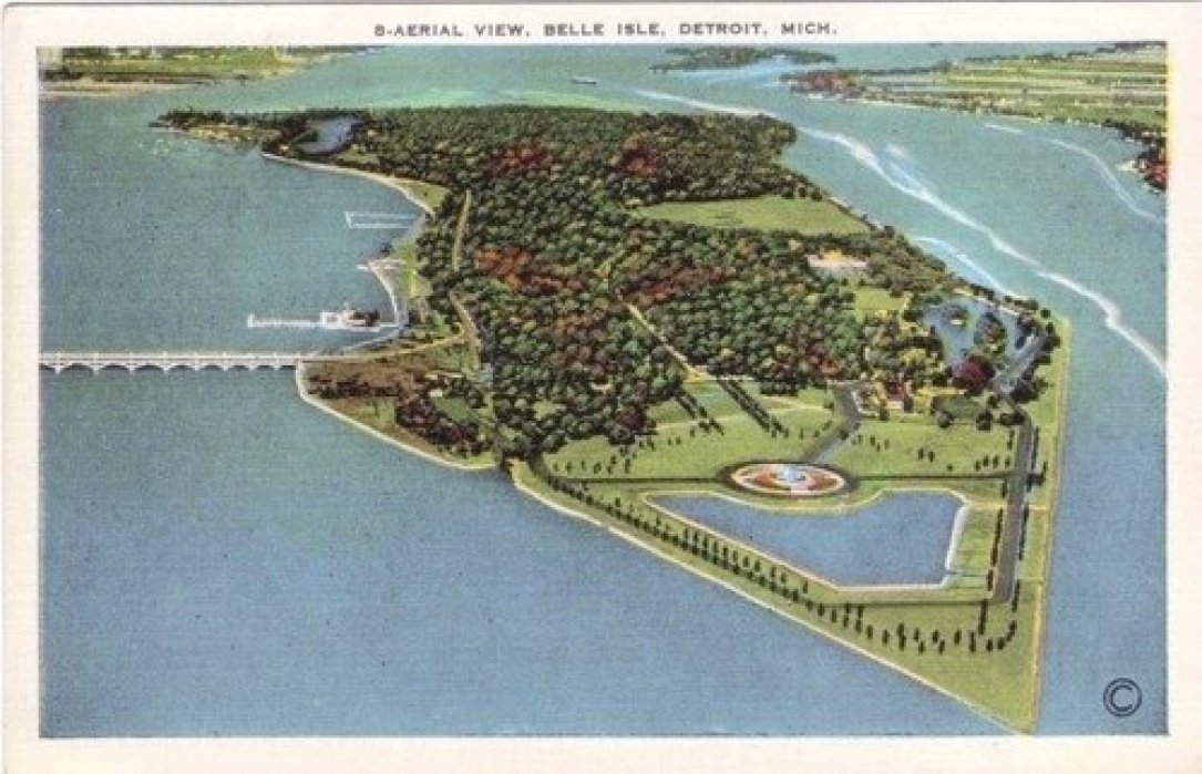 A Gem in the City: Belle Isle, Detroit - student project