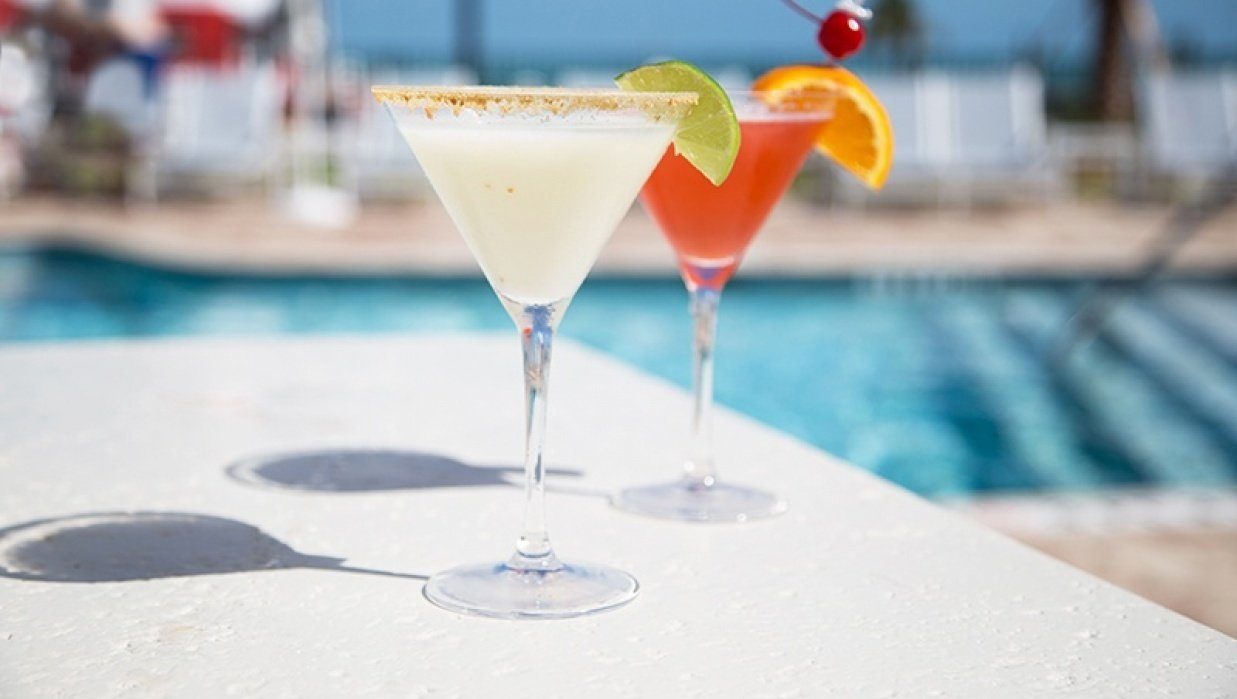 shooting food & drinks in the Keys - student project