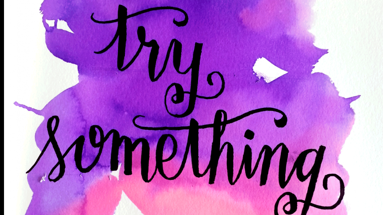 try something new - student project