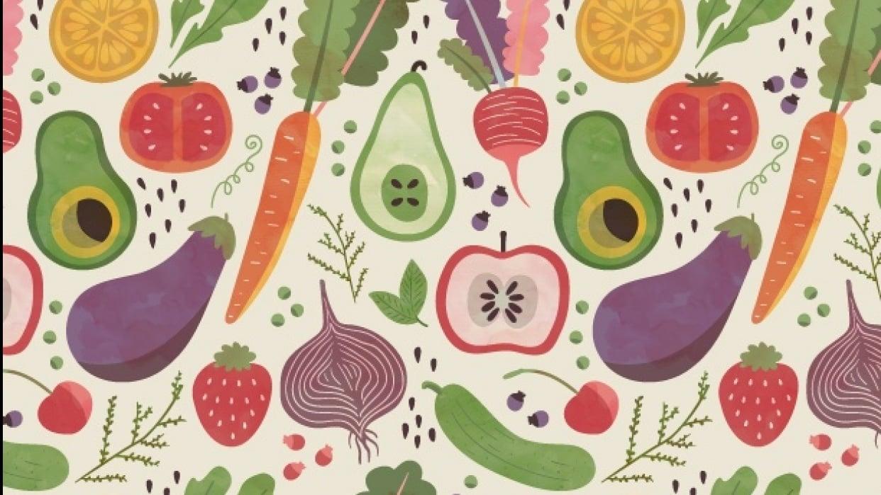 Fruits & Veggies - student project
