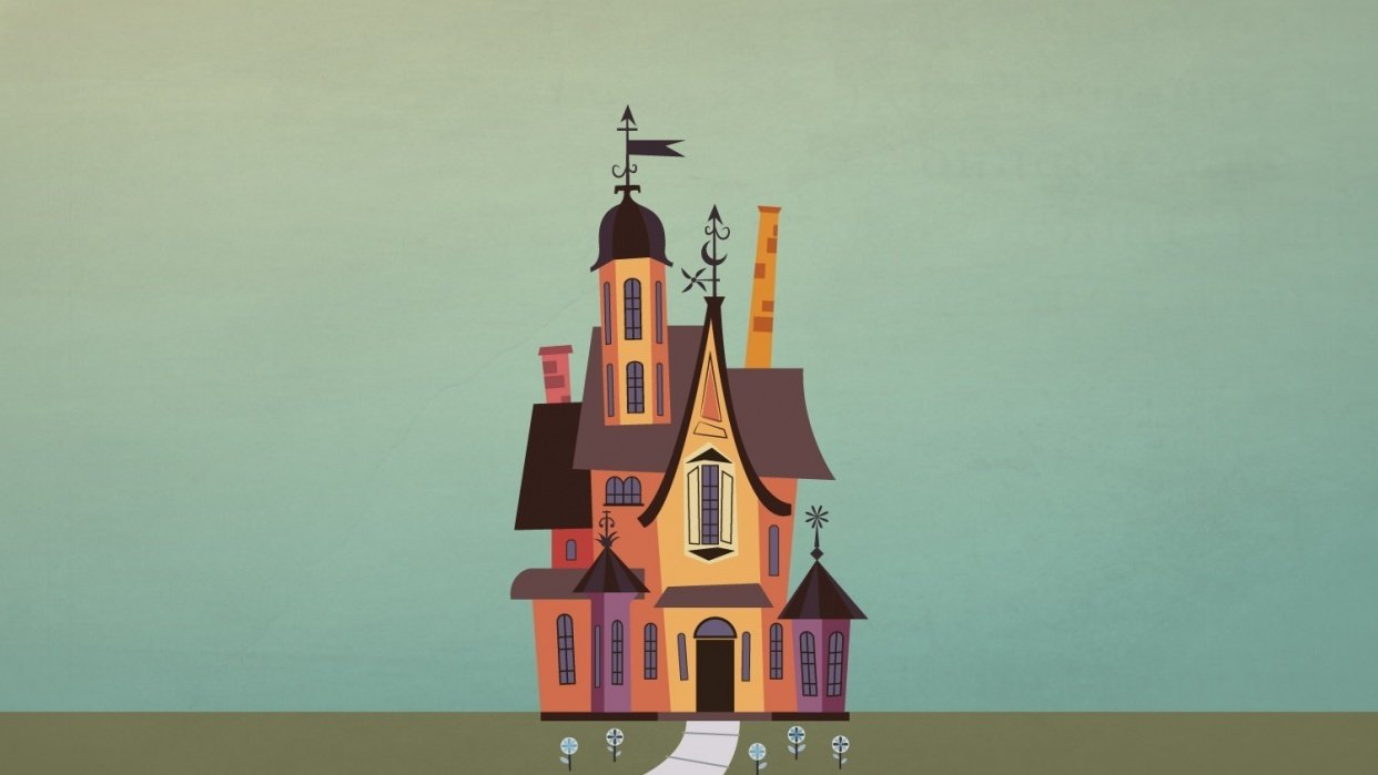 Home for Imaginary Friends - student project